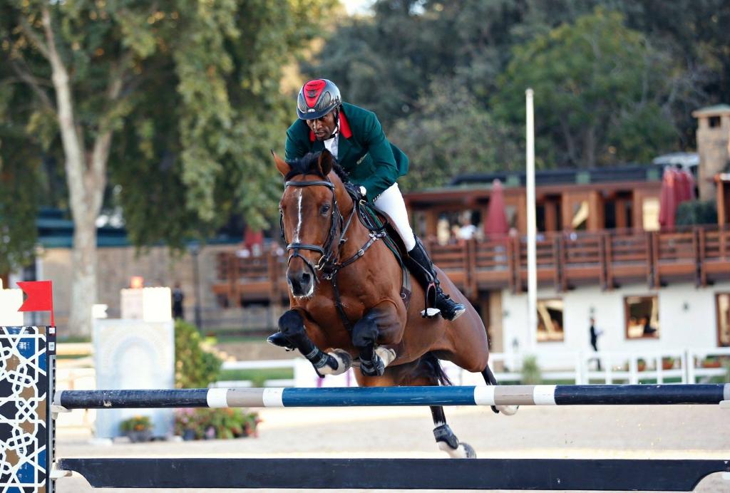 Abdelkebbir Ouaddar et Quickly de Kreisker (Crédit photo : R B Presse)
