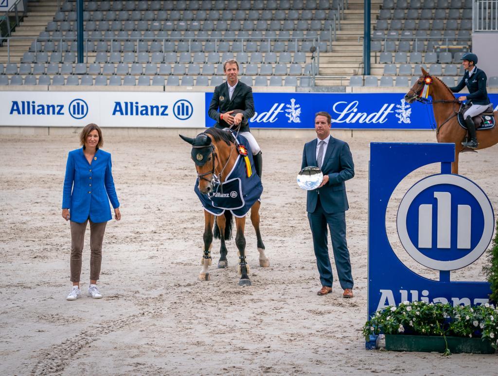 Maikel van der Vleuten (Photo : Aachen International Jumping/ Arnd Bronkhorst)