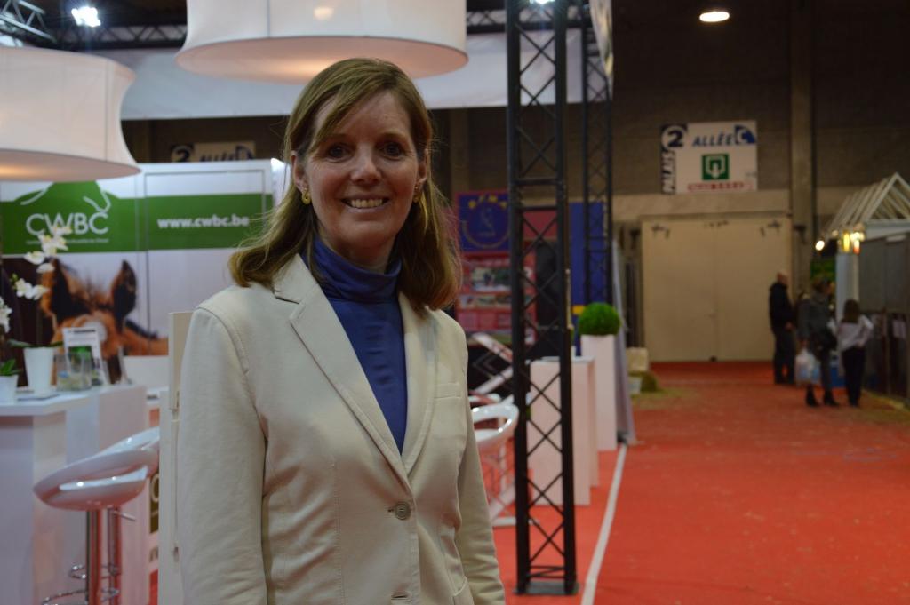 Anne Thiebauld au WEE (Crédit photo : Gaëlle Colinet)