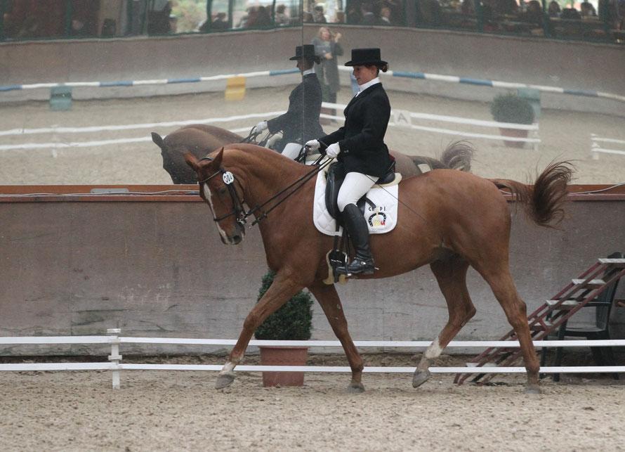 Virginie Cambron et Nembo (Crédit photo : Jean Lauwerens)