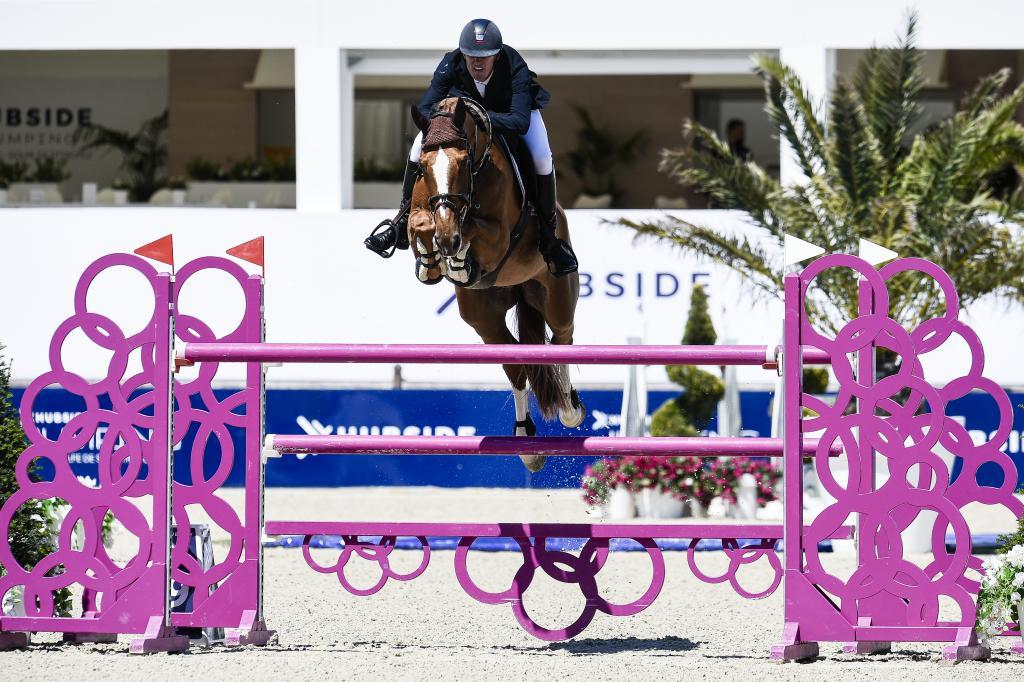 Jos Verlooy (Photo : Marco Villanti pour HUBSIDE JUMPING)