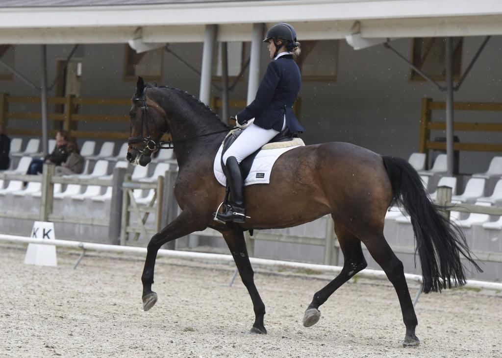 Martine Cauwenbergh et Landor (Crédit photo : www.nathaliegeerlandt.be)