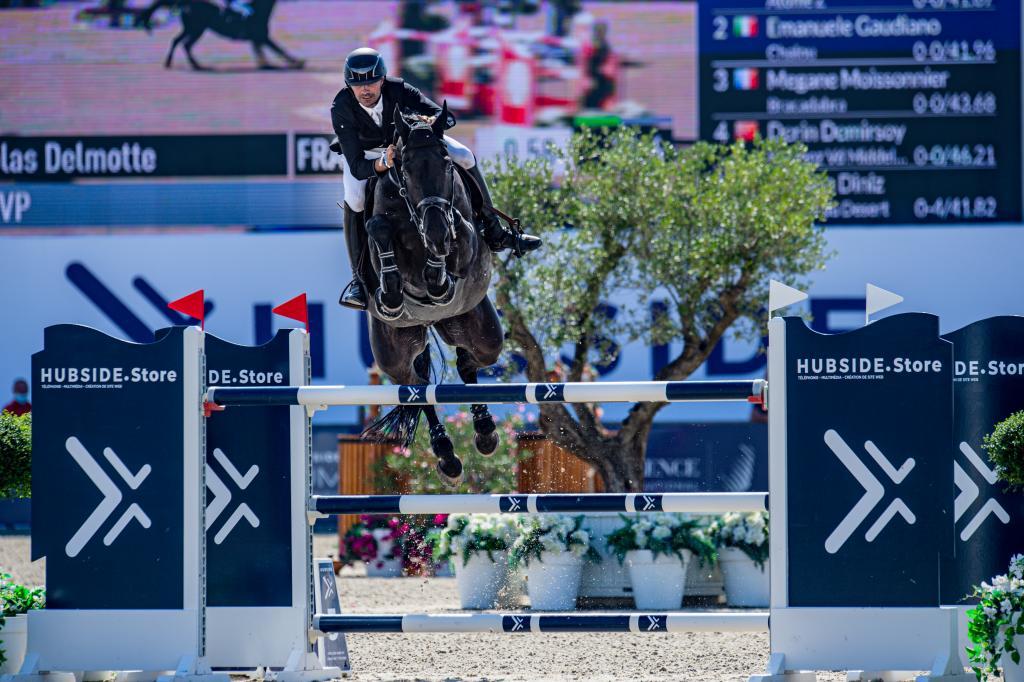 Nicolas Delmotte (Photo : Marco Villanti / Hubside Jumping)