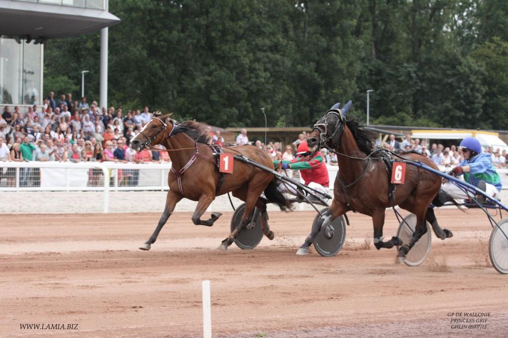 Princess Grif, le dossard numéro 1, s'est imposée Ghlin ce 9 août (Crédit photo : www.lamia.biz)