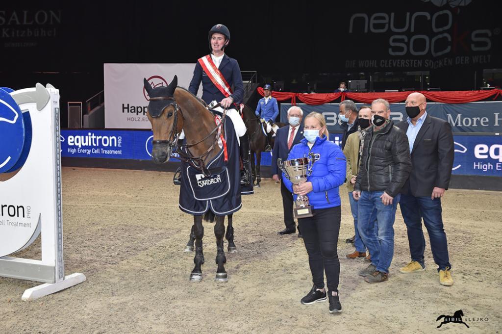 Jos Verlooy (Photo : Sibil Slejko / Amadeus Horse Indoors)