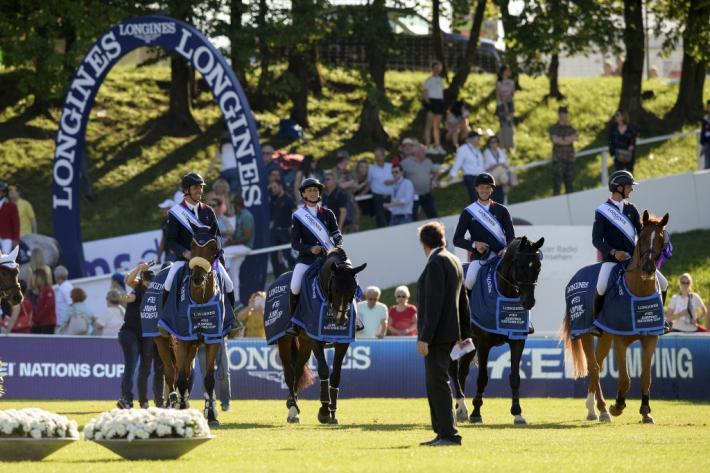 L'équipe française (Photo : FEI/Richard Juilliart)