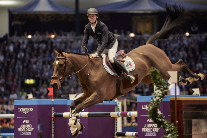 Niels Bruynseels et Delux van T&L (Photo : Liz Gregg / FEI)