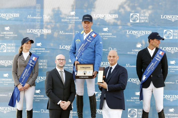 Le podium (Photo : Stefano Grasso / LGCT)