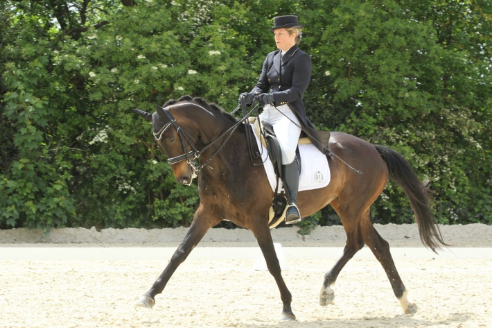 Danièle Werres et Royale Lady (Crédit photo : J. Lauwerens)