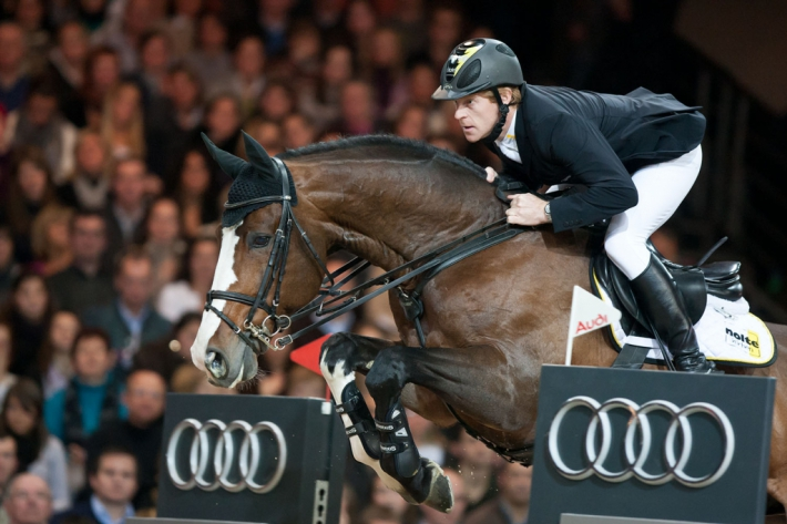Plot Blue et Marcus Ehning (Photo : Christophe Bortels)