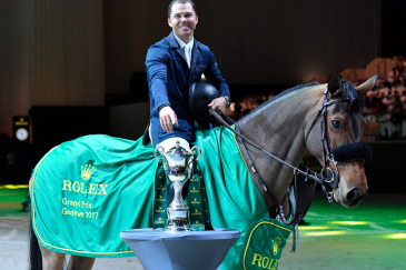 Kent Farrington (Photo : Kit Houghton / Rolex Grand Slam of Showjumping)