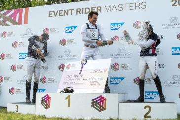 Le podium de l'ERM (Photo : Event Rider Master/Anna Franklin)