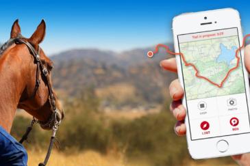 Cette application permettrait de découvrir plus facilement d'autres régions. (Crédit : Horseglobe)