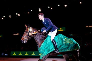 Henrik von Eckermann est le dernier à s'être imposé au Dutch Masters en 2019 (Photo: Ashley Neuhof / Rolex Grand Slam)