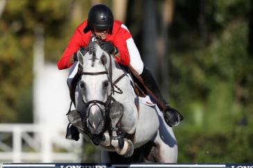 Grégory Wathelet et Nevados S (Photo : FEI / Linnea Rheborg/Getty Images)