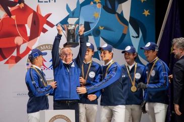 L'équipe européenne (Photo : Longines Masters)