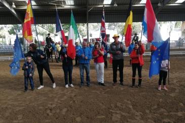 Les nations engagées dans la finale européenne des Masters du cheval ibérique (Crédit photo: DR)