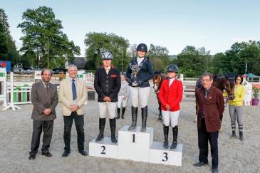 Le podium du Championnat GEPL (Crédit photo : PhotoSportEvent)