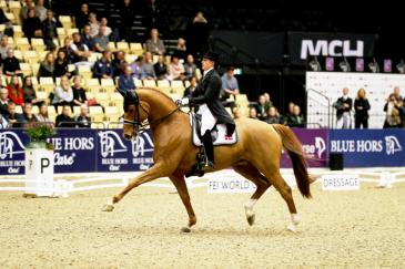 Cathrine Dufour et Cassidy à Herning (Crédit photo: FEI/Everhorsephoto.com)