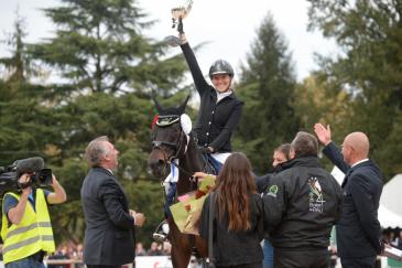 Gwendolen Fer est la première française à remporter un CCI 4* (Crédit photo: Nicolas Hodys)