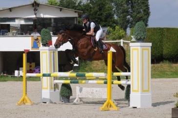Charlotte Mathy et Quinta de Sisse (Crédit photo : Photo Evénement)