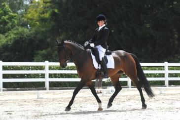 Ophélie Vanderroost et Tricolore Wisbecq, septièmes de la L6 Niveau L (Crédit photo : www.nathaliegeerlandt.be)