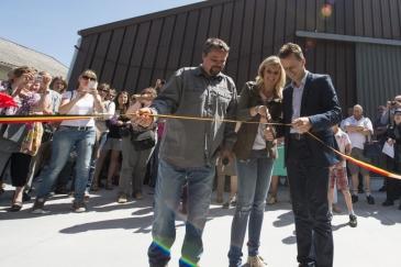 Jean-Marc Montegnies, Caroline Fontenoy et Carlo Di Antonio (Crédit photo : Animaux en Péril)