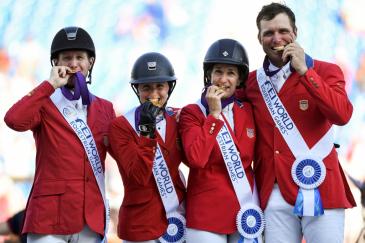 L'équipe américaine (Photo : Martin Dokoupil/FEI)