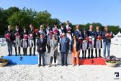 Le podium du CDIO 5* de Compiègne (Crédit photo: Agence Ecary)