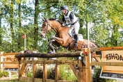 Oliver Townend sur le cross du CICO 3* de Boekelo (Crédit photo: FEI/Eventing Photo)