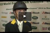 Embedded thumbnail for Dayro Arroyave dresse le bilan de ses Jeux